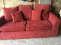 Virtually new futon