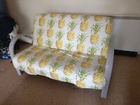 Sofa with pineapple pattern