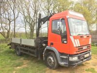 Hiab lorry iveco 120E15 12tonner