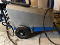 Comercial jet wash nilfisk pressure washer