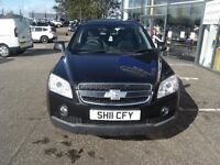 2011 11 CHEVROLET CAPTIVA 2.0 LT VCDI 5D AUTO 148 BHP**** GUARANTEED FINANCE **** PART EX WELCOME **