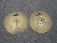 """Meinl Meteor 14"""" Hi Hats"""