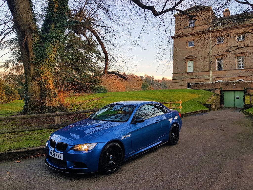 2017 Bmw M3 4 0 V8 Convertible Monte Carlo Blue Dct Edc P X Possible