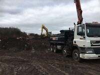 Grab lorry, muck shifting, muck away, site clearance.£160 per load