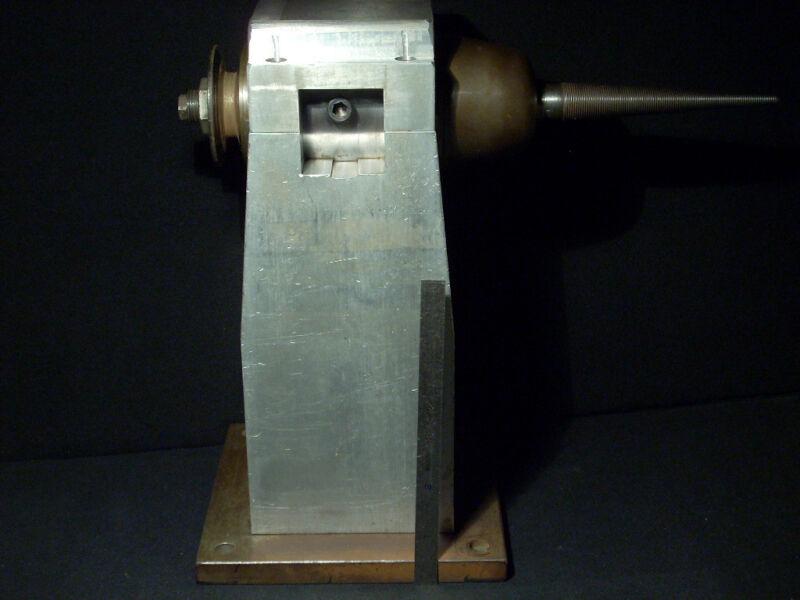 "Da Bomb! 16"" Buffing Machine Dual Bearing Grease Housing 17mm Shaft - 2"" Pulley!"