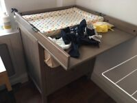 Baby Changing Table - Less than a year old