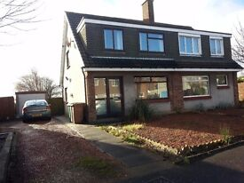 Spacious and Lovely Semi-detached House to rent in Dunnikier Estate Kirkcaldy Fife
