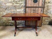 Vintage Folding Desk/ Hall table