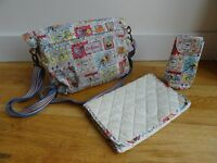 Cath Kidston Changing Bag / Cops and Robbers Print