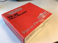 Boss VE-20 Vocal Processor (with 9V Power Supply)