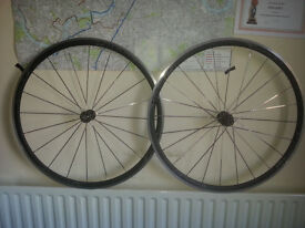 Front and rear Vision Team 30 aero rims & spokes