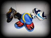 Boy's NIKE/GEOX/CROCS shoes/trainers,size 6/7-3pairs JUST £14.99!!!