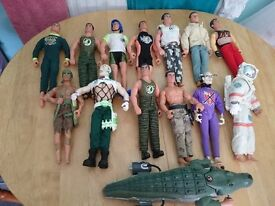 ACTION MAN TOYS EARLY EDITION