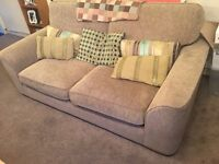 Furniture Village Lonsdale 3 Seater Sofa and Armchair