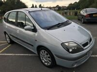 Renault Scenic 1.6, Petrol, 2003, 2 Keys, 1 Year Mot, Excellent Drive