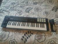 M Audio Oxygen 49 Midi Keyboard & Sustain Peddle