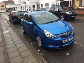 Corsa vxr mint in blue with full history