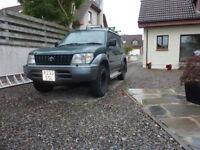 Toyota Land Cruiser VX 3.0ltr diesel
