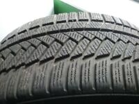 225 40 18 Continental Winter Contact Tyres x 4