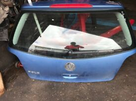 07 VW POLO TAILGATE GOOD CONDITION