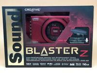 Creative Sound Blaster Z PCIe Gaming Sound Card with High Performance Headphone Amplifier