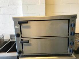 Commercial double deck pizza oven Lincat