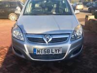 Vauxhall Zafira 1.6 petrol/lpg Design