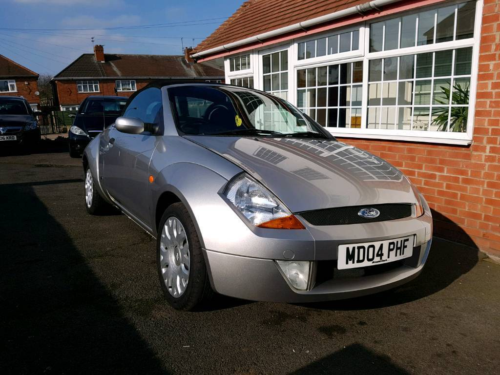 Ford Ka Convertible Full Year Mot Low Mileage Bargain Price