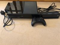 Xbox One (500GB) with Kinect and wireless controller.