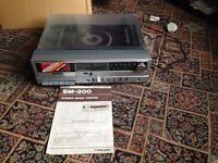 Brand New 1980's Toshiba SM-200 Stereo Music Centre