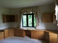 Maple Cupboards - Bedroom, Office furniture - Bespoke Solid Wood Carpentry
