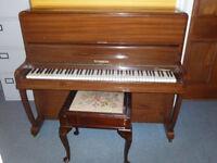 Free upright Piano & Stool