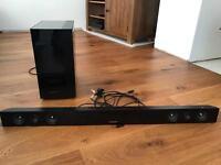 Samsung 450 soundbar and wireless subwoofer