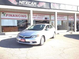2012 Honda Civic EX AUT0 A/C SUNROOF ONLY 84K