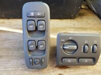 VOLVO v70t5 window switch unit headlight switch unit