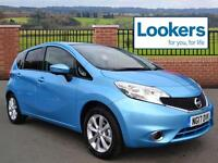 Nissan Note TEKNA DCI (blue) 2017-06-30