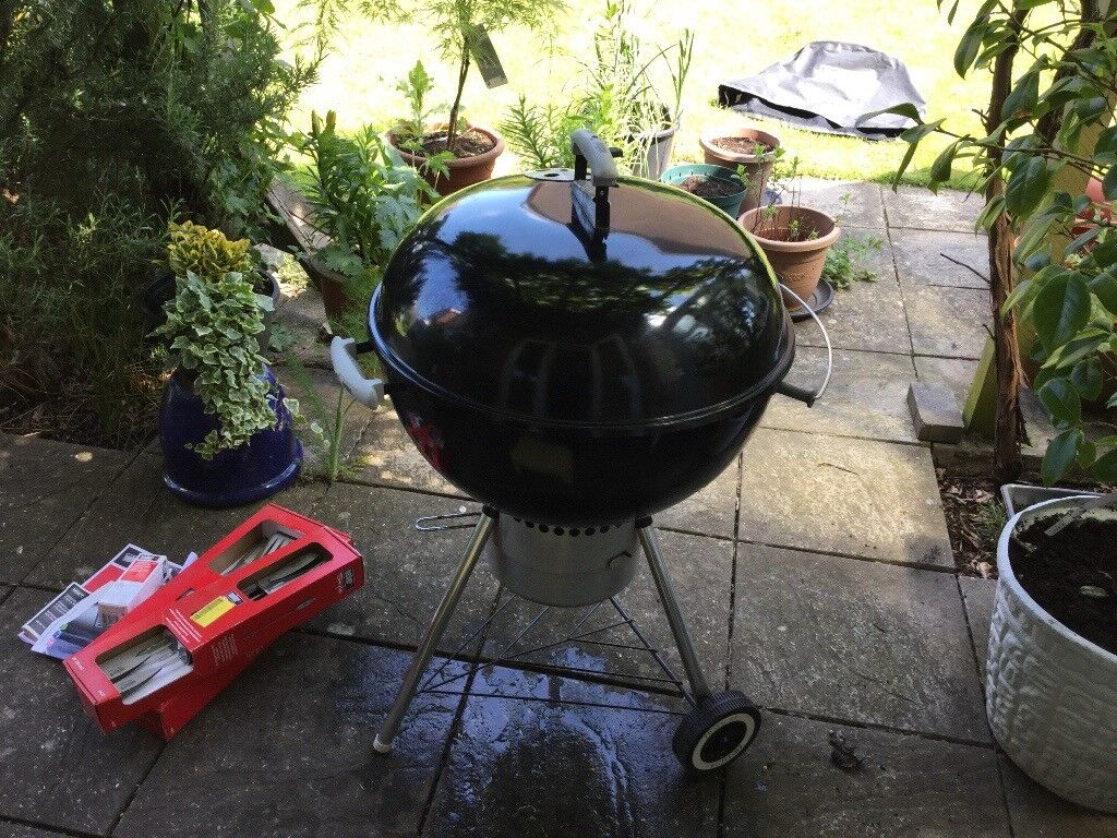 weber premium kettle charcoal bbq | in kingston, london | gumtree