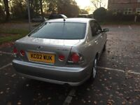 Lexus IS200 2.0 4dr — BEAUTIFUL CAR, VERY CLEAN. CHEAP AND CHEERFUL!
