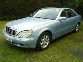 MERCEDES S320 TURBO DIESEL 2000 YEAR