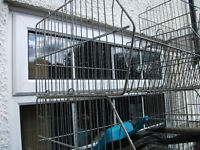 GALVANISED HEAVY DUTY STORAGE BASKETS