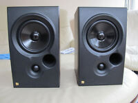 KEF Coda 7 Speakers x 2 in Mahogany finish in excellent condition