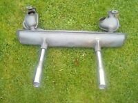 VW SILENCER AND TAIL PIPES. NEW. NEVER FITTED.