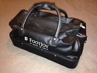 Footjoy Holdall Sports Bag, Golf, Faux Leather, Used Once