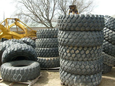 1400X20 MICHELIN XL MILITARY TIRES MONSTER TRUCK