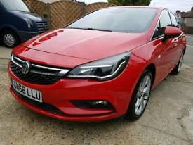2017 Vauxhall Astra Sri Ecoflex S/S -1.0 Petrol - Damaged Repairable Car