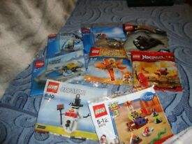 8 packs lego 5-12 yrs new unopened