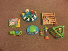 Baby development toy bundle