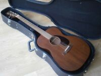 MARTIN 000-15M All mahogany USA acoustic guitar 2015. Fender hard case. 00015M 000 15M 00015