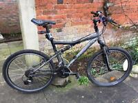 Btwin rock rider 6.2 mountain bike 20 inch frame