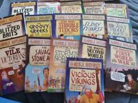 Horrible Histories books